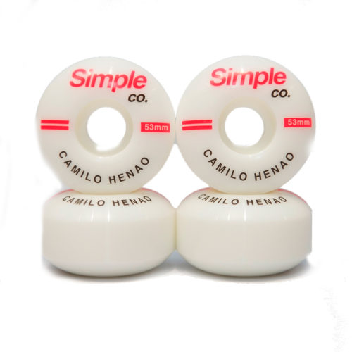 Ruedas Simple Co Camilo Henao 53 mm