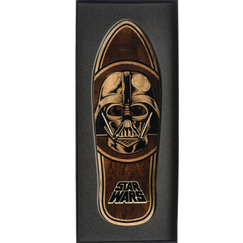Tabla Santa Cruz Darth Vader Inlay Coleccionable
