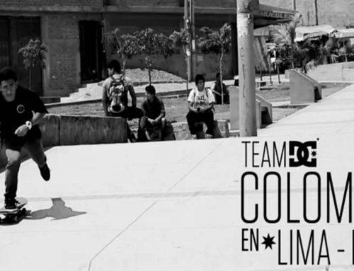 TEAM DC SHOES COLOMBIA EN LIMA, PERU 2014