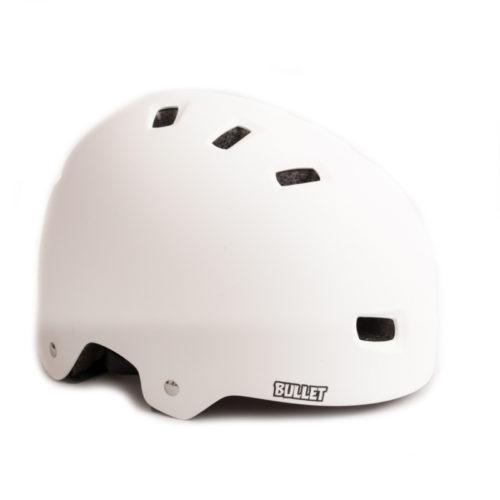 Casco Bullet Matt White L XL