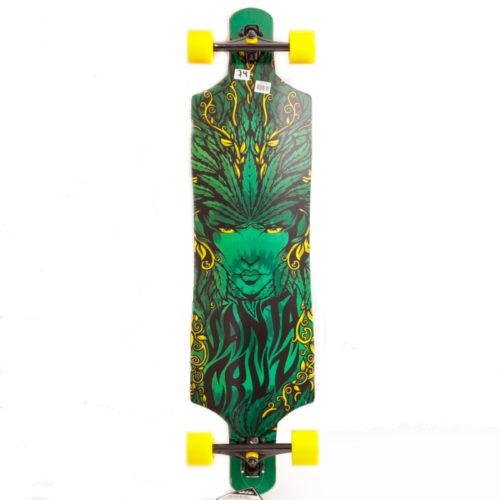 Longboard Santa Cruz Drop Thru Weed