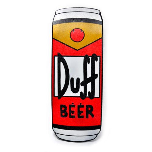 Cruzer Santa Cruz Simpsons Duff Can 10.5