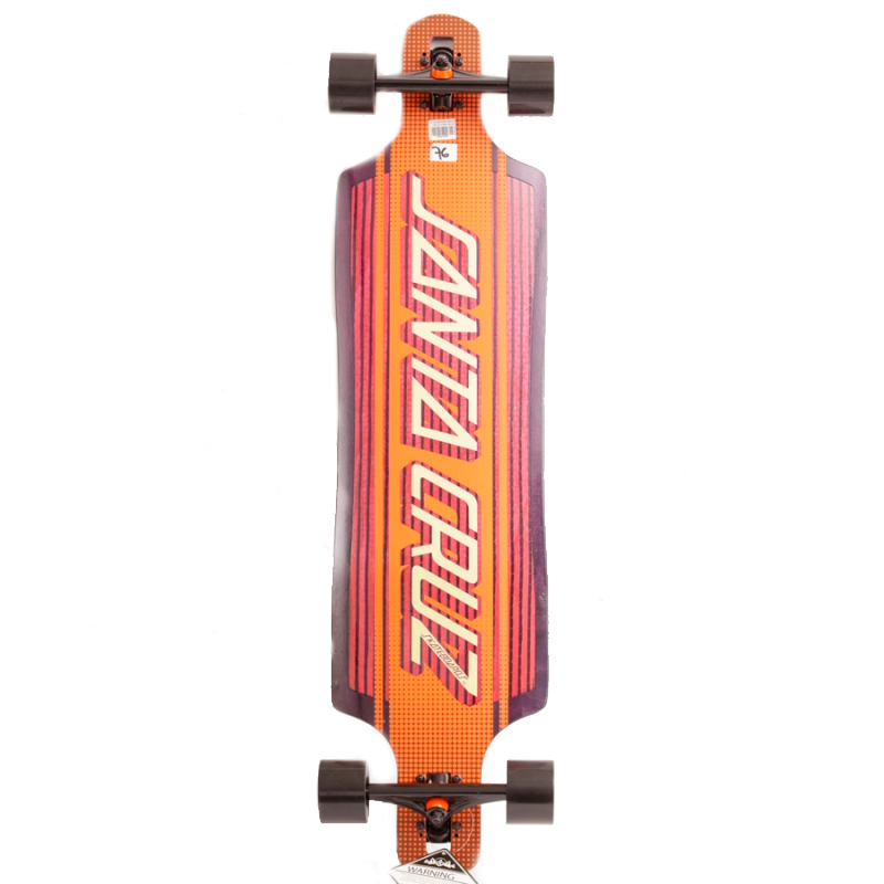Longboard Santa Cruz Strip Inlay Drop 10