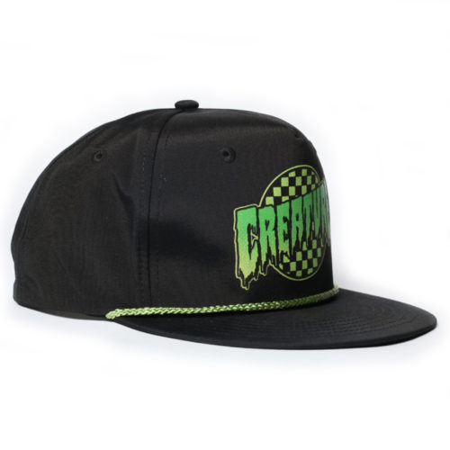 Gorra Creature Snap Back Go Home Twill Black