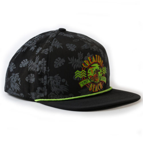 Gorra Creature Snap Back Last Resort Black