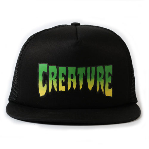 Gorra Creature Trucker Logo Mesh Hat Black