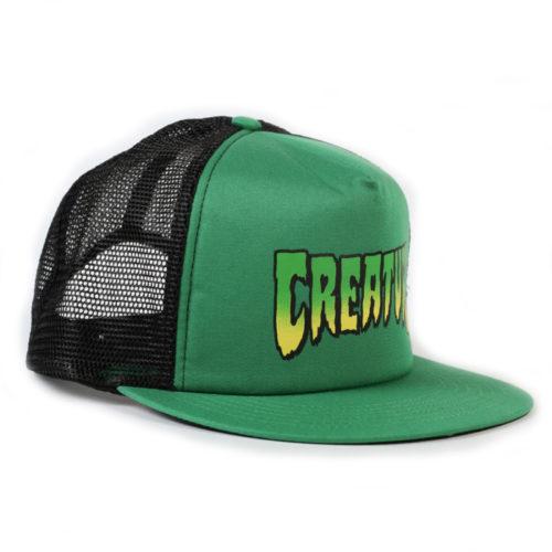Gorra Creature Trucker Logo Mesh Hat Forest Black