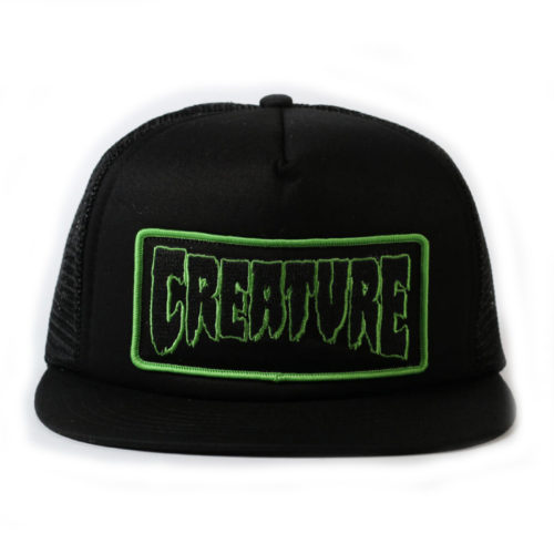 Gorra Creature Trucker Patch Hat Black
