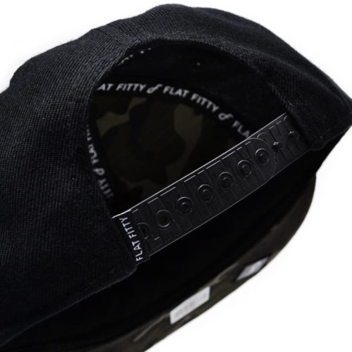 Gorra Flat Fitty Hip Hop Sucks Negra