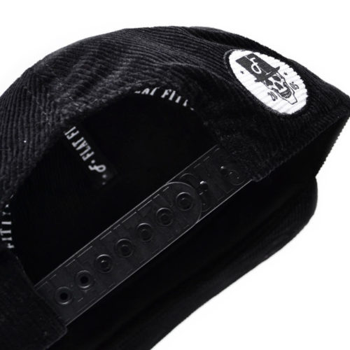 Gorra Flat Fitty Pano Negro