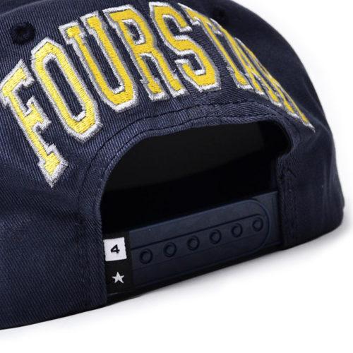 Gorra Fourstar Navy Gris