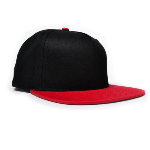 Gorra Fourstar Negro Rojo
