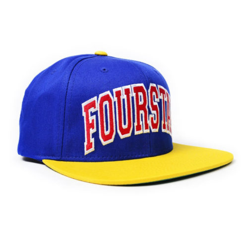 Gorra Fourstar Starter Royal Amarillo