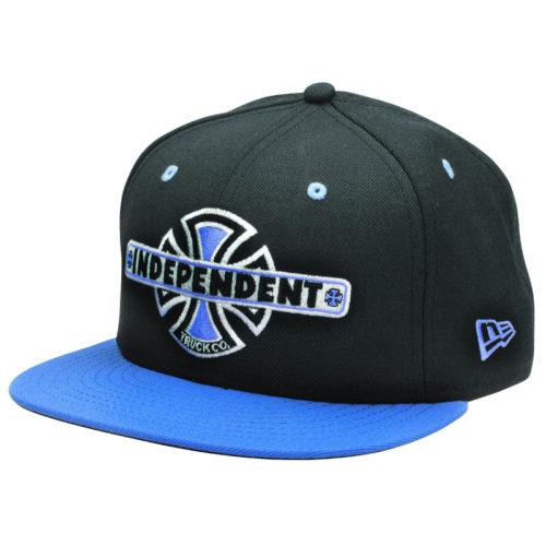 Gorra Independent New Era Vintage B C Black