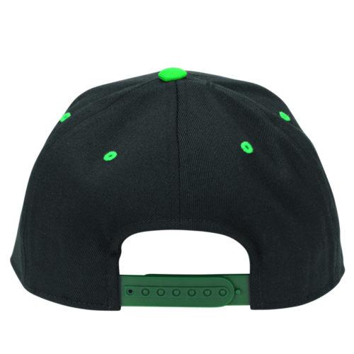 Gorra Independent Snap Back Felxfit Voltage Black Green