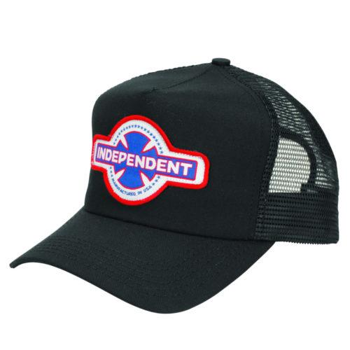 Gorra Independent Trucker Mfg Usa Black