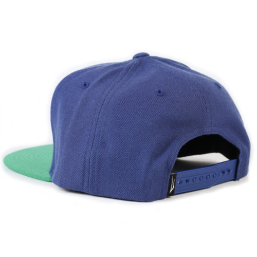 Gorra Lakai Anchor Snapback Azul Verde