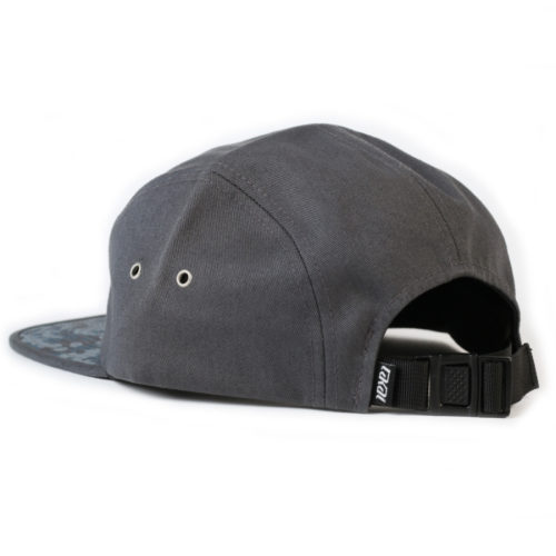 Gorra Lakai Dynasty 5panel Gris