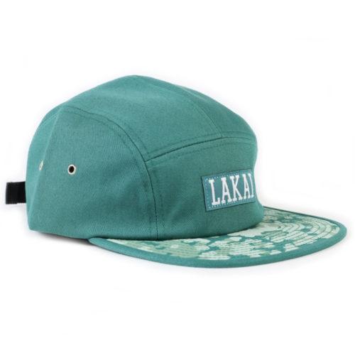 Gorra Lakai Dynasty 5panel Verde