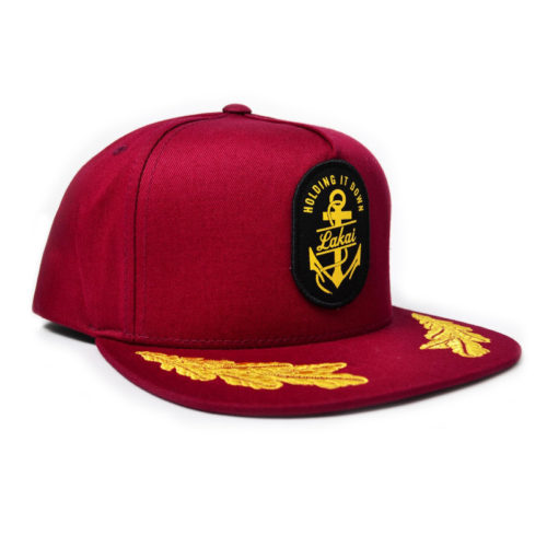 Gorra Lakai Holding It Down Roja