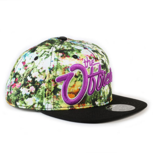 Gorra Official Trill Snapback Flores