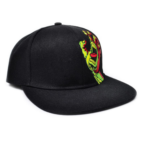 Gorra Santa Cruz Screaming Hand Negra