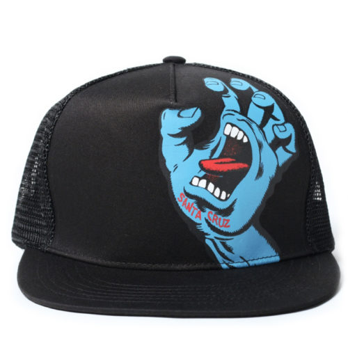Gorra Santa Cruz Screaming Hand Trucker Black