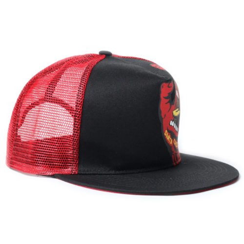 Gorra Santa Cruz Screaming Hand Trucker Black Red