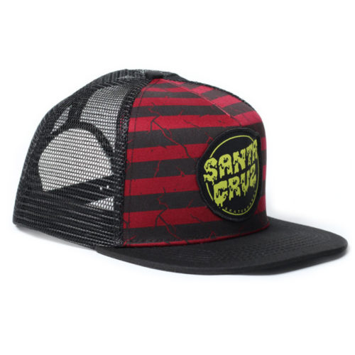 Gorra Santa Cruz Trucker Breack Down Black Oxblood
