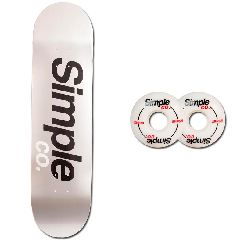 Tabla Simple Plate Ruedas Simple Co Logo 55mm