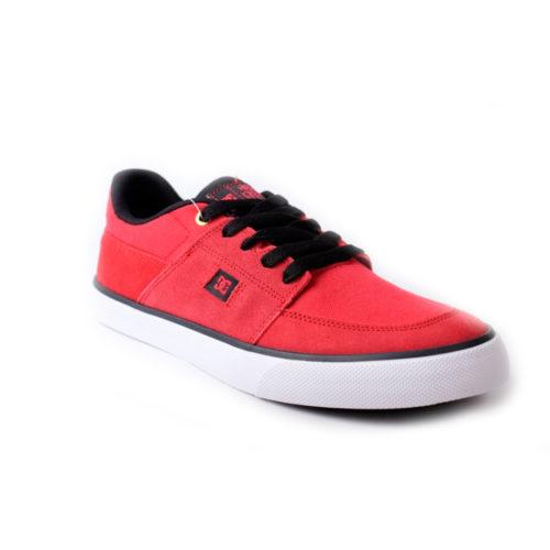 Zapatos DC Wes Kremer Red Black