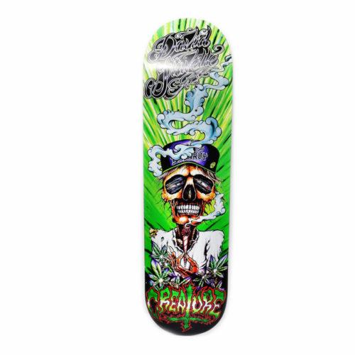 Tabla Creature Gravette Hippie Skull 3 8.26