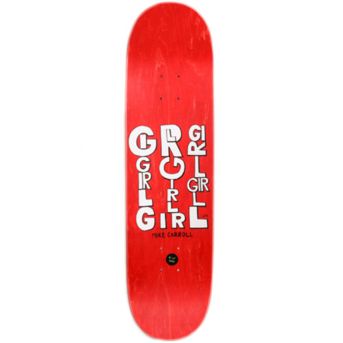 Tabla Girl Karroll Red 8.1/2