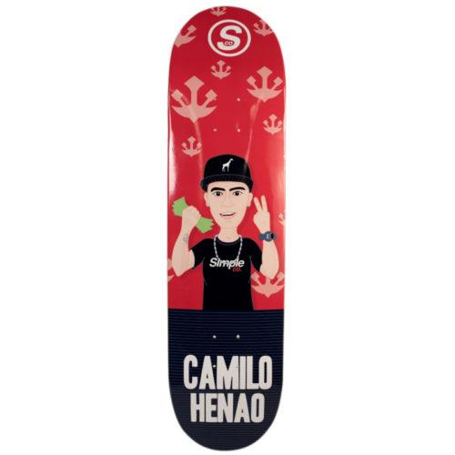 Tabla Simple Co Camilo Henao