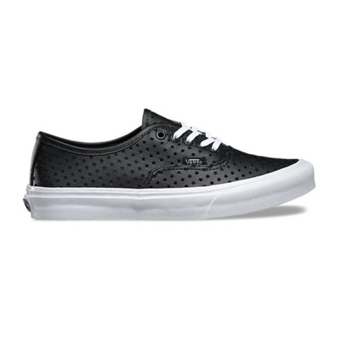 Zapatos Vans Authentic Slim Perf Stars Black