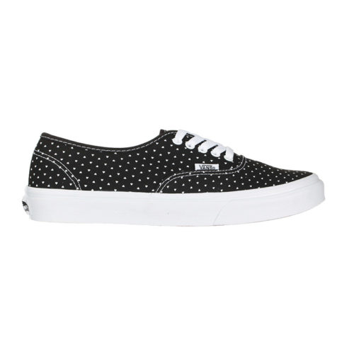 Zapatos Vans Authentic Slim Micro Hearts Black True White