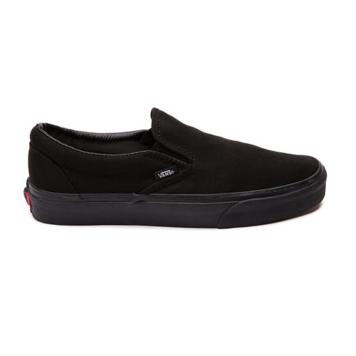 Zapatos Vans Slip On Black Black
