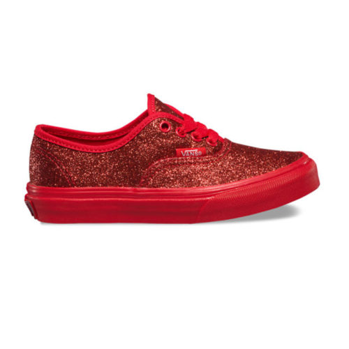 Zapatos Vans Authentic Shimmer Red