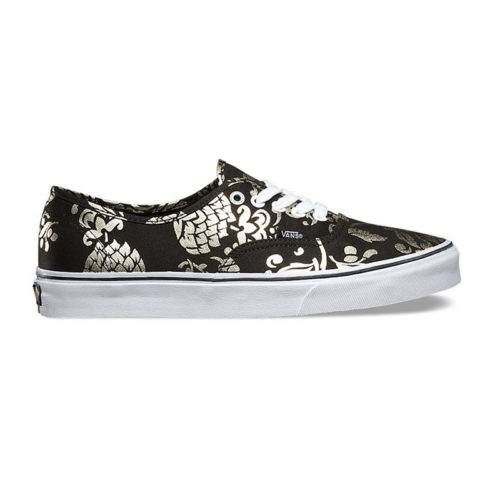 Zapatos Vans Authentic Duke Black Gold Foil
