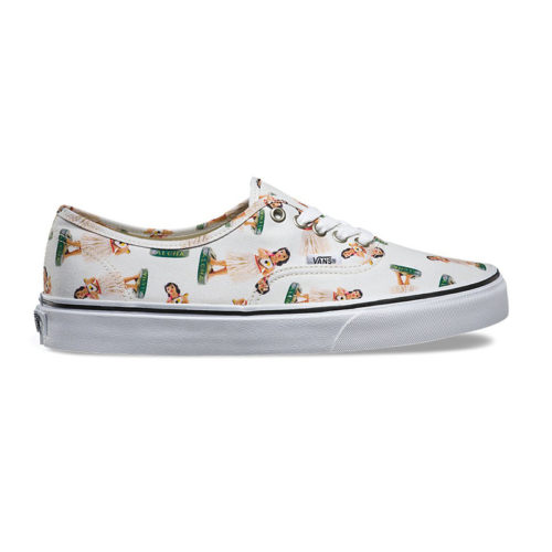 Zapatos Vans Authentic Digi Hula White True White