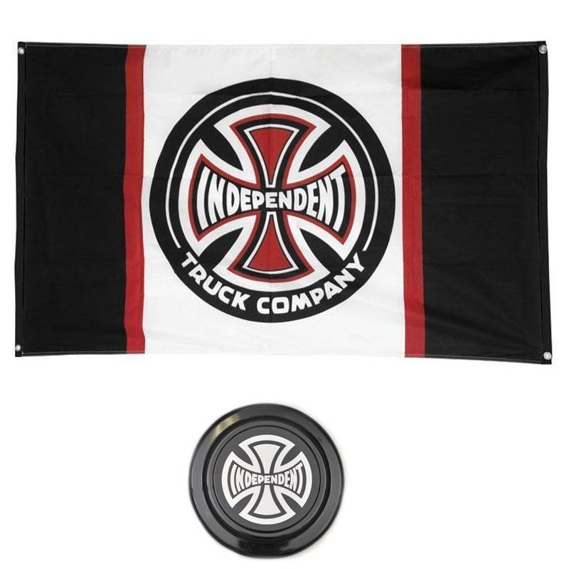 Combo Independent Bandera + Frisbee