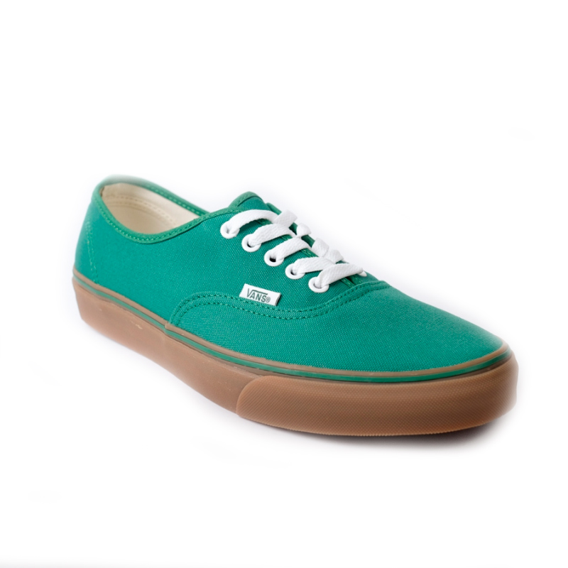 Vans Board Gumsole On Green Med Verdent Authentic Zapatos BHxn11