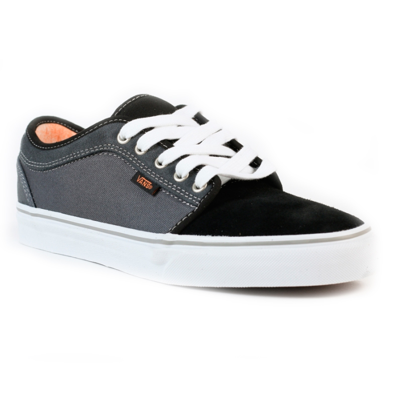 Orange Board Black Charcoal Chukka Vans On Zapatos Low xqU7pXw