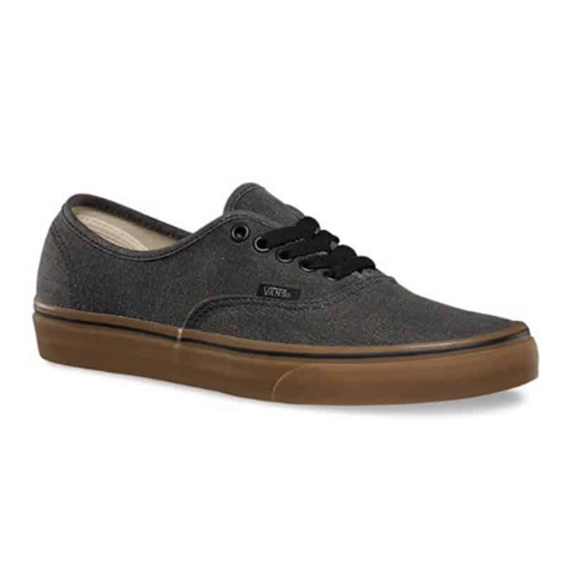 obtener online detalles para precio razonable Zapatos Vans Authentic Washes Canvas Black Gum