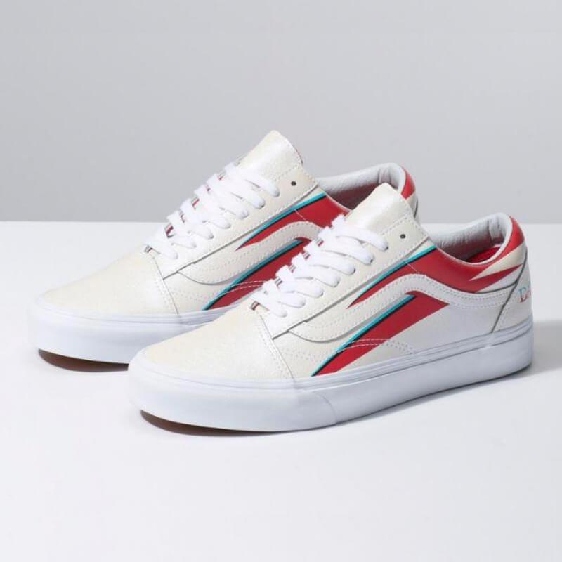 Zapatos Rápido Fanático  Zapatos Vans David Bowie Old Skool - On Board