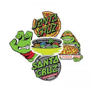 Sticker Santa Cruz x Tortugas Ninja