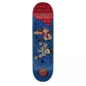 Tabla Santa Cruz x Tortugas Ninja Bebop and Rocksteady 8.125